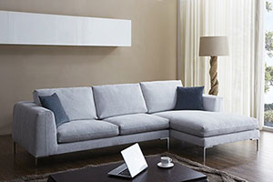 grey sectional with rf chaise